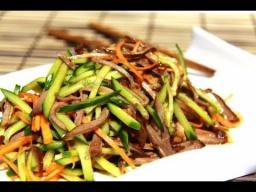Нарезка овощей в китайском стиле / мастер-класс от шеф-повара / Илья Лазерсон / Обед безбрачия