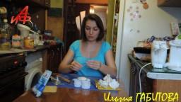 Белые розы для торта из кондитерской мастики