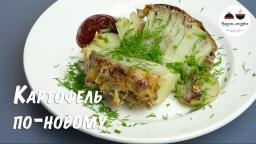 Видео -  Картофель по-новому  Очень необычно и очень вкусно  Блюда из картофеля Potatoes in the oven