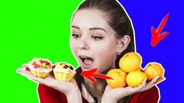 Афинка Diy Лайфхаки с мандаринами! Простые рецепты кексов / Проверяю рецепты из интернета / Фудхаки