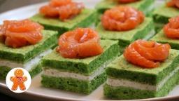 Закусочные Пирожные Новогодний | Рецепт Ирины Хлебниковой