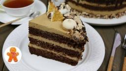 Ирина Хлебникова - Шоколадно-кофейный торт