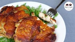 Видео -  ОТБИВНЫЕ из куриных окорочков  Необыкновенно вкусно! Chicken Steaks