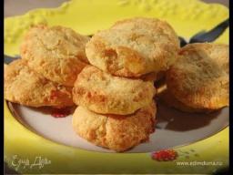 Юлия Высоцкая — Кокосовое печенье с ананасами