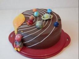 """торт """"Солнечная система"""" Galaxy torte"""