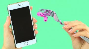 Трум Трум  7 аксессуаров для мобильного телефона своими руками