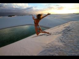 Чудо чудесное: Дюны в Бразилии: Парк Ленсойc-Мараньенсес