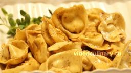 Тортеллини с творогом и с сыром - Рецепт Бабушки Эммы