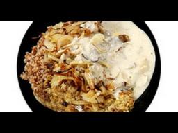 Печёнка с гречкой от Ильи Лазерсона /  русская кухня