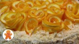 Украшение Апельсиновые Розы ✧ Школа Домашнего Кондитера