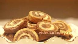 Песочное печенье Спиральки - Рецепт Бабушки Эммы