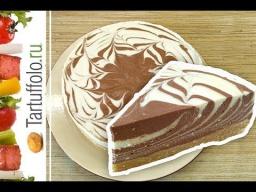 Рецепт - Творожный торт БЕЗ выпечки | А. Митрофанова
