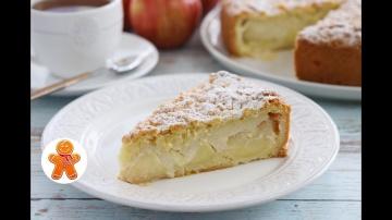 Яблочный Пирог с Заварным Кремом Шарлотка По-Польски Ирина Хлебникова