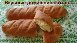Ольга Уголок -  Вкусный и мягкий домашний батон.