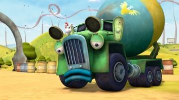 Мультики про машинки - ТРАКТАУН - Сборник мультфильмов для мальчиков