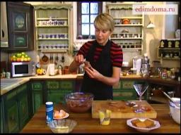 Мусс из маскарпоне с какао, печеньем и миндалем | Рецепт Юлии Высоцкой