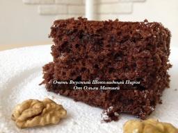 Ольга Матвей  -  Очень Вкусный Шоколадный Пирог | Chocolate Cake Recipe