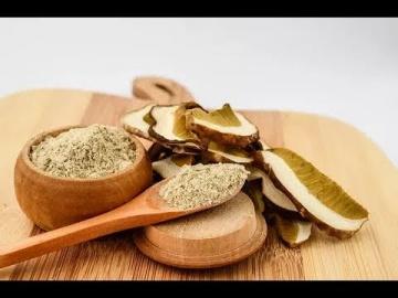 Как сделать пудру (порошок) из сухих грибов / Лазерсон Кулинарный ликбез