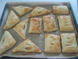 Карманы с яблоками   Рецепт Маринкины Творинки