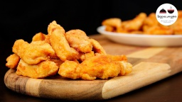 Видео -  Невероятно вкусные кусочки куриного филе! Roasted Chicken