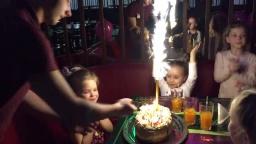 Праздничный торт. День рождения Гураль Эвелины 2015 год.