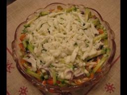 Слоеный салат с языком | Рецепт Ирины Хлебниковой