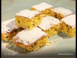 Юлия Высоцкая — Лимонные пирожные с маракуйей