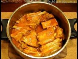 Ирина Хлебникова -  Запеченные в духовке свиные ребрышки |Рецепт