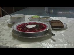 Холодный суп Свекольник - Рецепт Бабушки Эммы - Видео