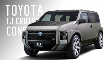 Toyota Tj Cruiser Concept | Большой тест драйв