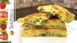 Хрустящие Сырные Лепешки за 5 минут | Рецепт Алены Митрофановой