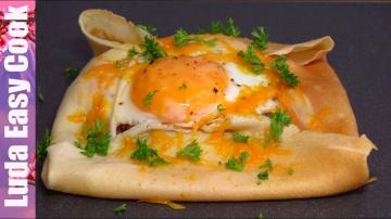 Позитивная Кухня БЛИНЫ КОНВЕРТИКИ вкусный и сытный завтрак на МАСЛЕНИЦУ