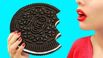 Трум Трум Огромные и миниатюрные сладости – 9 идей