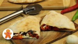 Пицца Кальцоне (Calzone) с баклажанами | Рецепт Ирины Хлебниковой