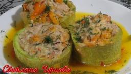 Светлана Чернова -  Кабачки фаршированные. Простой домашний рецепт./Stuffed zucchini