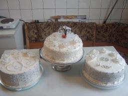 Медовый бисквит и Свадебный торт . | Рецепт Маринкины Творинки