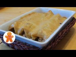 Ирина Хлебникова -  Каннеллони с курицей и грибами под соусом морне |Рецепт