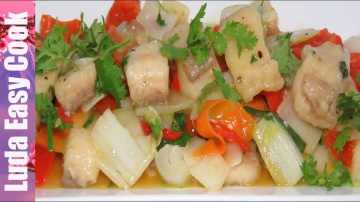 Позитивная Кухня ВКУСНАЯ РЫБА в КИСЛО-СЛАДКОМ СОУСЕ с ОВОЩАМИ по-китайски | Fried Fish in Sweet and