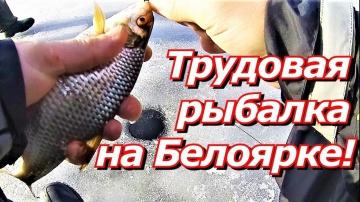 ПашАсУралмашА:-Трудовая рыбалка на Белоярке