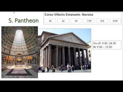 10 лучших мест Рима