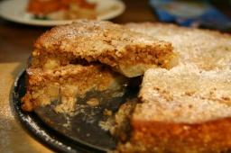 Грушево-миндальный пирог | Рецепт Юлии Высоцкой