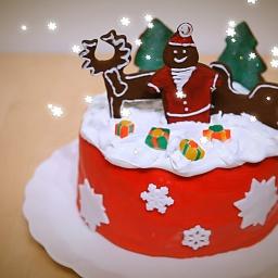 Украшение новогоднего торта в домашних условиях | AllrecipesRU