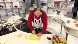 Украинский борщ с чесноком и салом рецепт шеф-повара   Украинская кухня