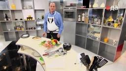 Подача (сервировка) холодного супа с курицей мастер-класс  от шеф-повара / Илья Лазерсон