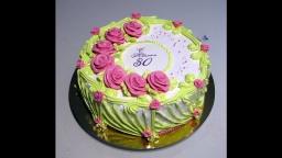 Светлана кесслер - Ещё одна идея оформления тортика кремом БЗК - Видео