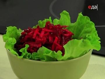 Уникальный салат щётка из сырой свёклы и яблок / от шеф-повара / Илья Лазерсон / Кулинарный ликбез