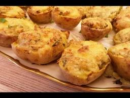 Алена Митрофанова -  Фаршированный запеченный картофель в духовке