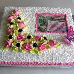 Украшение торта | Мастер класс | Светлана Кесслер