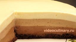 Торт Три шоколада - Рецепт от Бабушки Эммы