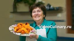 Цветочек из слоеного теста с заварным кремом - Рецепт Бабушки Эммы